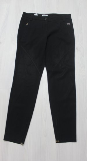 Moschino cheap & chic Hose mit gold Zipper Details