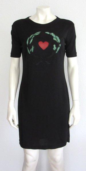 """Moschino """"Cheap & Chic"""" Kleid schwarz Gr. L Logo"""