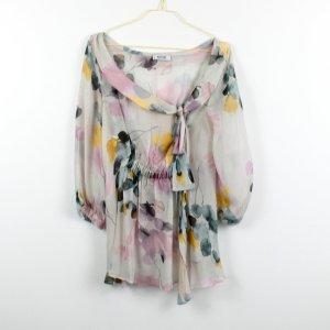 Moschino Cheap and Chic Blusa de seda multicolor Seda