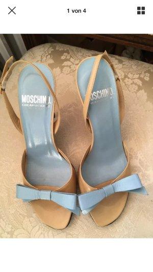 Moschino Cheapandchic Sandaletten mit Schleife 36