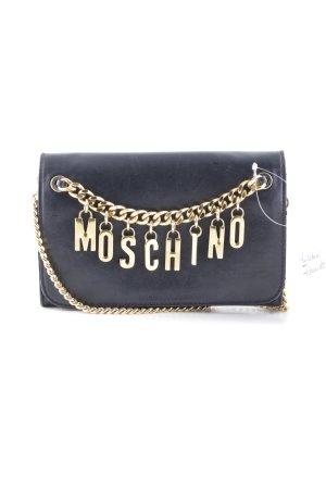 """Moschino Clutch """"Crossbody Briefcase Black"""" schwarz"""