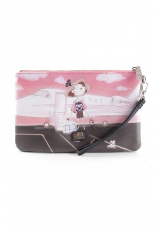 Moschino Clutch Motivdruck extravaganter Stil