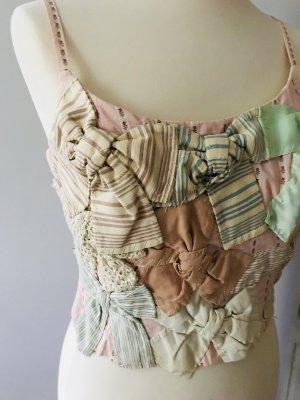 Moschino Haut type corsage multicolore