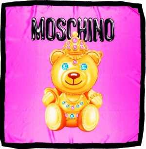 *  MOSCHINO COTURE  *  LUXURY  Seidentuch  *  NEU  *