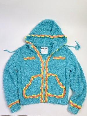 Moschino Couture Jacke blau Gr 36 NEU