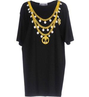 *  MOSCHINO  COUTURE  *  Mini-Kleid  * Jersey  mit  Aufdruck  *  Gr.M-L  *