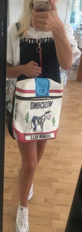 Moschino Sac porté épaule multicolore
