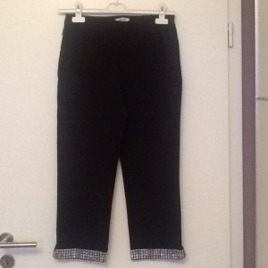 Moschino Designer Jeans, schwarz, Boot cut, 3/4 Stretchmaterial, Gr. 38