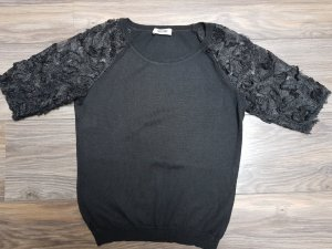 Moschino Feinstrick Pullover Spitze Gr. 36