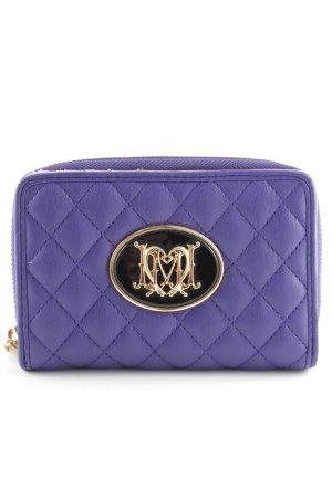 Moschino Geldbörse dunkelviolett Elegant