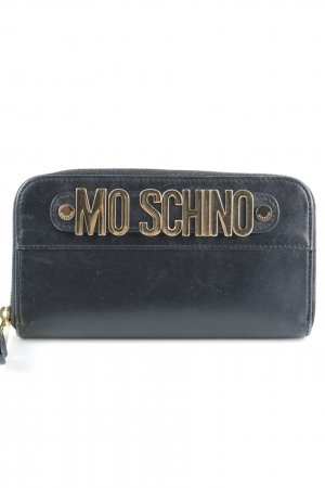 "Moschino Geldbörse ""Zip Around Logo Wallet Black"""