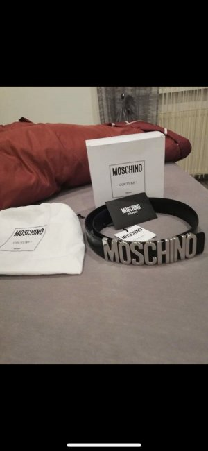 Moschino Waist Belt black-silver-colored