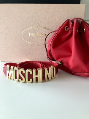 Moschino Riem rood-goud