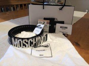 Moschino Gürtel mit Nieten