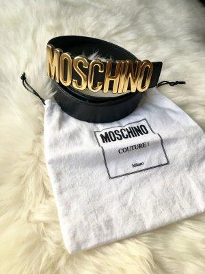 Moschino Gürtel Schwarz