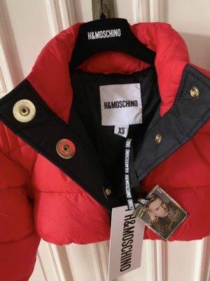 Moschino Bomberjack rood-zwart