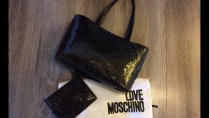 Moschino Handtasche Lack