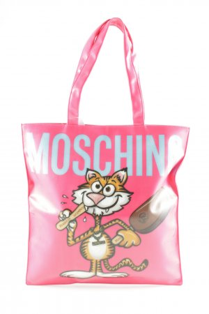 Moschino Handtasche Motivdruck Comic-Look