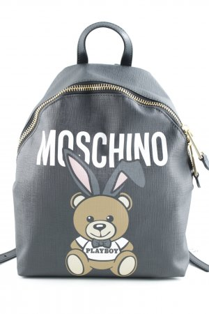 "Moschino Handtasche ""Playboy Bear Backpack Black"""
