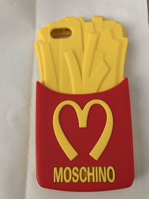 Moschino Zonnebril rood-geel