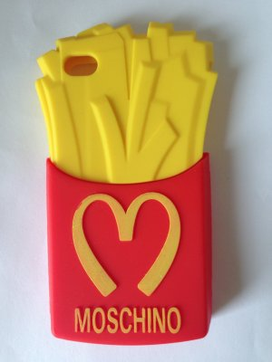 Moschino Mobile Phone Case red-yellow