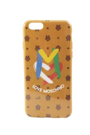 Moschino Hoesje voor mobiele telefoons Monogram-patroon Logo print