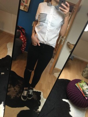 Moschino Hemd Bluse Streifen
