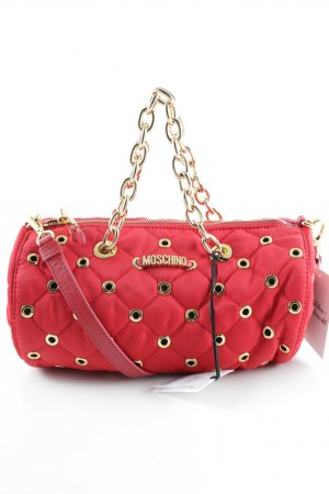 "Moschino Bolso barrel ""Nylon Round Crossbody Red"""