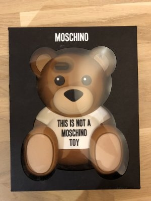 Moschino Key Chain bronze-colored