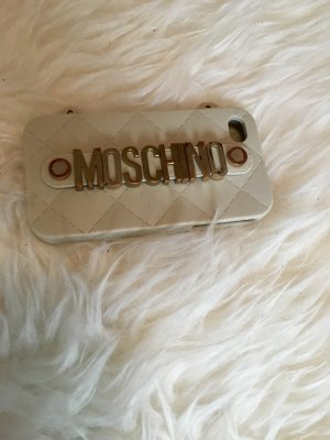 Moschino iPhone 4 4s Hülle Case Nude beige Gold