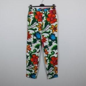 Moschino Jeans Gr. 31 weiß bunt gemustert (18/11/096/R/K)