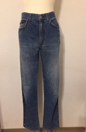 Moschino Jeans Hoge taille jeans blauw