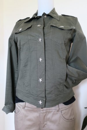 Moschino Jeans Military Star Jacke, Gr. IT 42 (38)