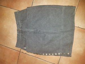 Moschino Jeans Rock Grau