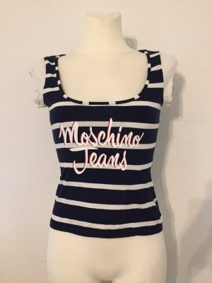 Moschino Jeans Basic Top multicolored