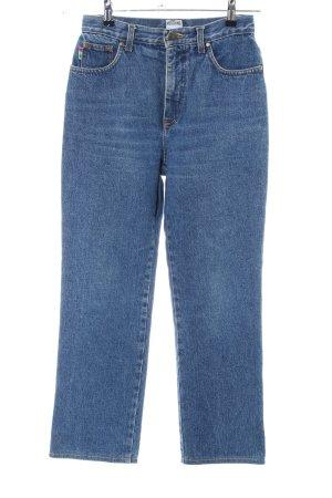 Moschino Jeans a carota blu stile casual