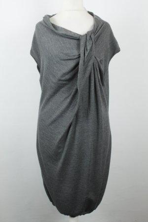 Moschino Kleid grau Kaschmiranteil