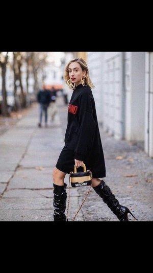 Moschino Sweater Dress multicolored