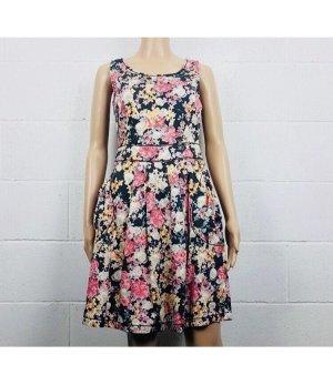 Moschino Kleid mit Blumendruck XS