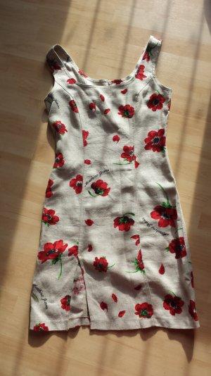 Moschino Kleid mit Mohnblumen