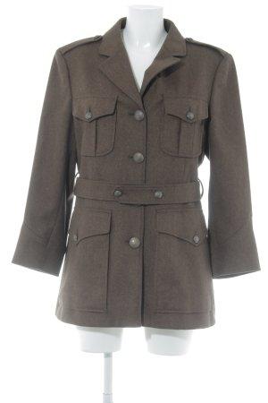 Moschino Fake Fur Coat brown casual look