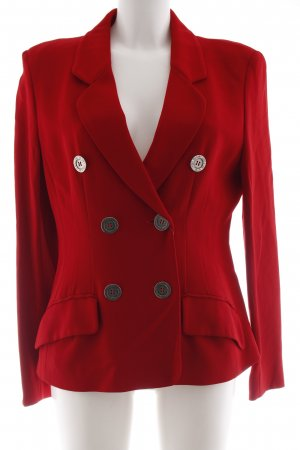 Moschino Kurz-Blazer rot Business-Look