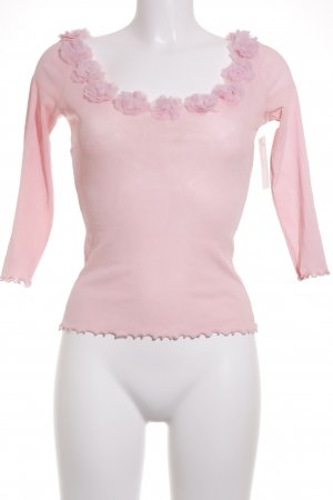 Moschino Langarm-Bluse rosa Casual-Look