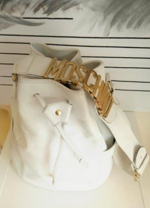 Moschino Leder Tasche