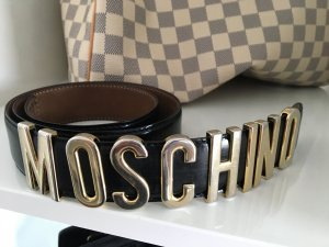 Moschino Belt black-gold-colored