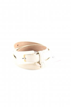 Moschino Leather Belt oatmeal-light brown animal pattern elegant