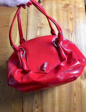 Moschino: Lederhandtasche, XL, neuwertig!