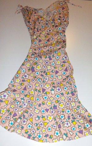 MOSCHINO Linen mid-length dress 38