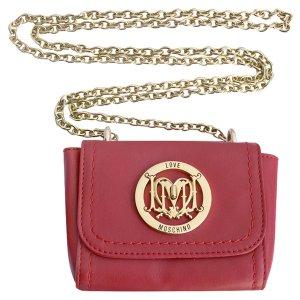 Moschino Love Crosbody Tasche, Kette in Gold