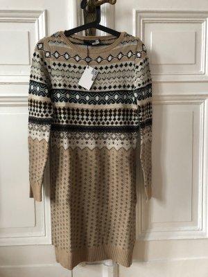 Love Moschino Vestido de lana beige